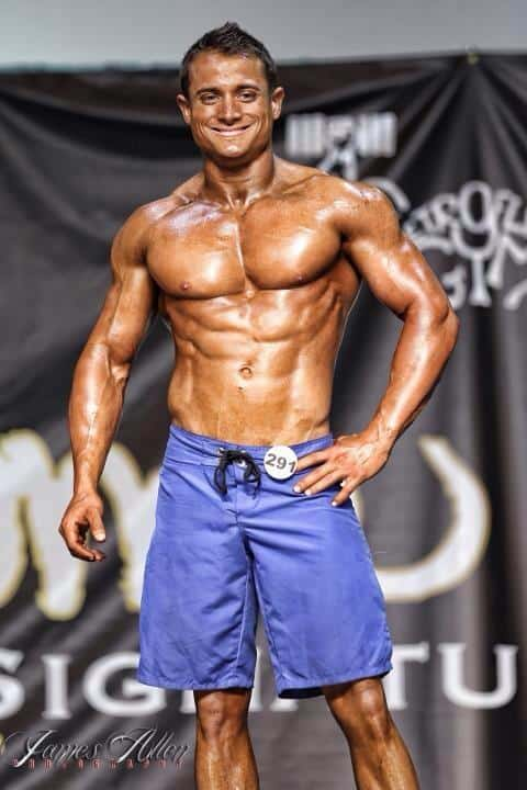 Cory Russell 2012 Central Texas Showdown 3rd out of 30 mens physique